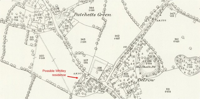 1872-Ordnance Survey 25 inch map Hertfordshire XLIV.3 (detail) - National Library of Scotland