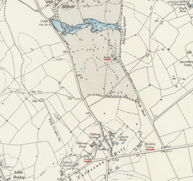 1899-Ordnance Survey 6 inch map Middlesex V.NE (detail) - National Library of Scotland