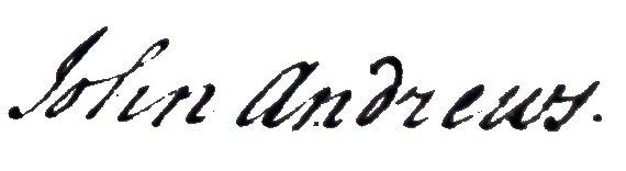 John Andrews 1800