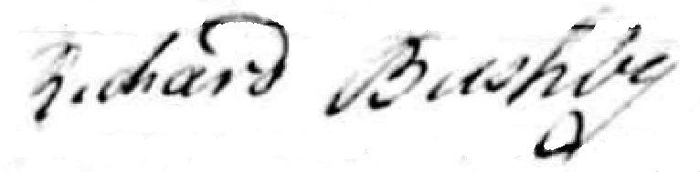 Richard Bushby 1801